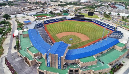 ´Home Run´ de Acesco con el estadio de béisbol Édgar Rentería